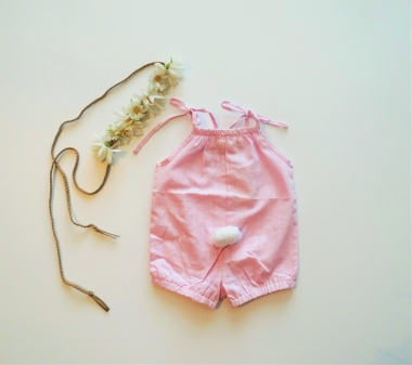 Cotton Tail Romper 1