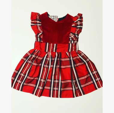 Vici Plaid Dress 1